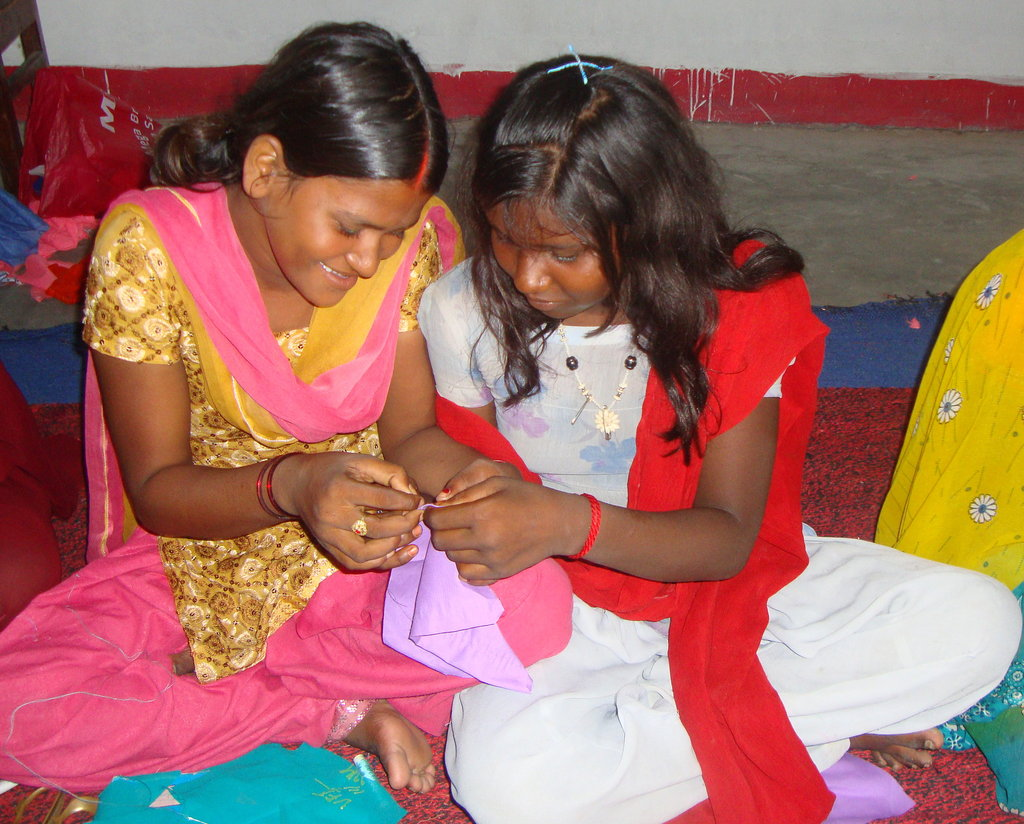 Help Girls at Risk Learn Sewing Skills
