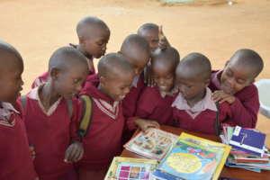 Students Choosing Books