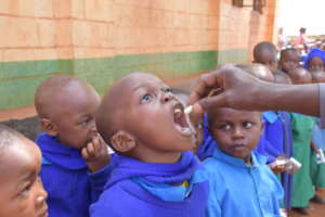 Keeping kids health and in school with deworming