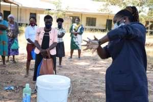 Teaching effective hand washing
