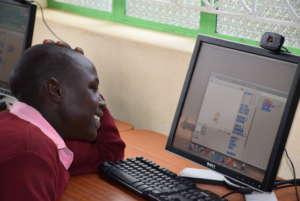 Student from Kituiu enjoy coding