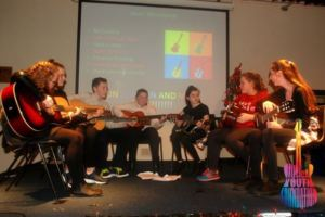 Musical Youth Foundation Guitars for Kids ensemble