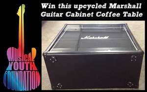 Win this Marshall Guitar Cabinet Coffee Table
