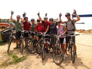 Staff and Volunteers Ride for the Rainforest