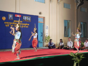 Performance of outreach & resident Yike students
