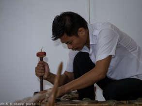 Repairing Pin Peat instrument