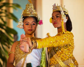 Proud to be a Cambodian girl! Photo by Steve Porte