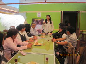 Teacher training with Ruth Uribe