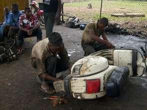 Motorcyle Repair Shop Success