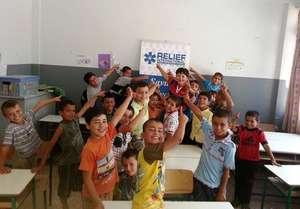 Syrian kids back to their studies thanks to RI