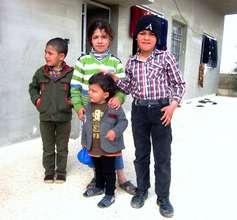 Children from Mafraq, Northern Jordan