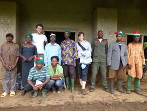 Project staff with Mofako Bekondo Council