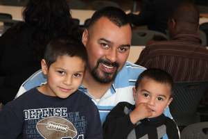 Father and Sons-Los Angeles, CA Safe Sleep Center