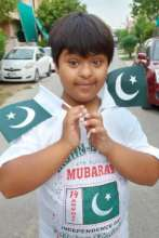 Independence day celebrations at home