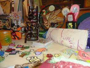 Handicrafts made by our Special Children