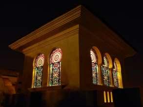 Exterior of Arquetopia's music studio in Puebla