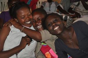 Happy beneficiaries