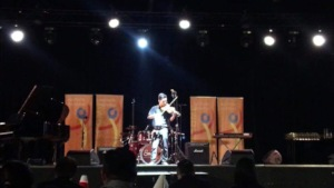 Performing at the Asia Pacific Arts Festival