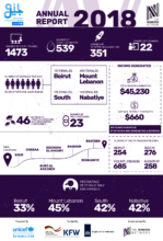 The Nawaya Network - 2018 in Numbers