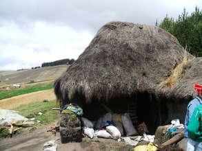 Typical choza house