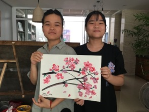 Linh and her student