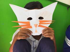 Rock-Paper-Scissors Mask Making