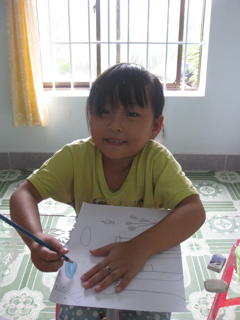 Art Mentorship for Poor Vietnamese Children