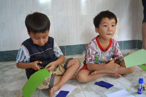 Kids from Hoa Yen Orphanage Vietnam