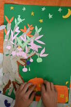 Torn Paper Tree Project