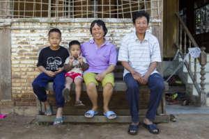 A Thai foster family