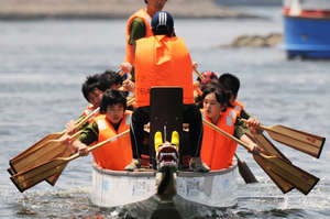 Fukushima Dragon Boat Academy in Action