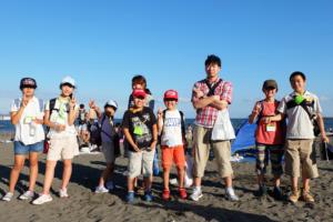 We will visit Enoshima Island and the beach again