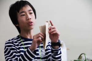 Future engineer explains his winning design