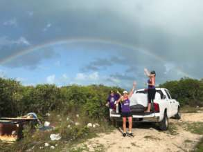 The BAARK Team Trapping at Little Farmers Cay Dump