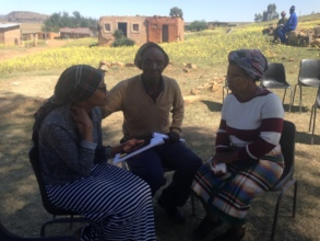 Community survey at Ha Makebe