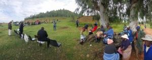 Village meeting with LEWA at Ha Makebe
