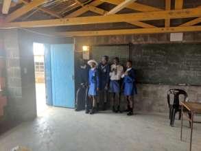 Students at Ha Makebe High School