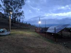 Solar PV system for Ha Makebe minigrid