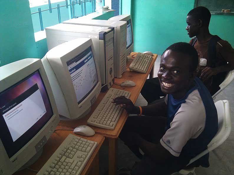 Computers for 10 schools in Haiti