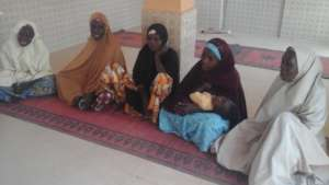 The five women trained on fodder