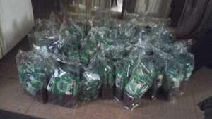 WASH Materials distributed to the kids