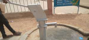 New water source for the community