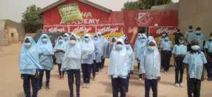 Students of Salha Academy Community school