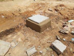 Chamber for motorised borehole