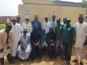 District head, teachers and community members