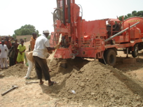 Installation of Hand pump