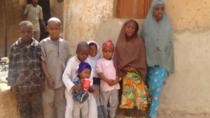 Mairo and her siblings