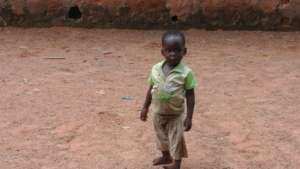 One of the children in Dausayi