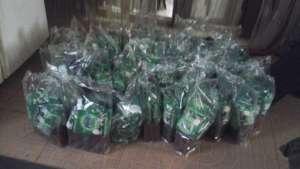 WASH packs of soaps, detergents for 50 children