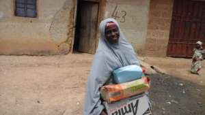 Our Farmer Maryam determined to keep clean